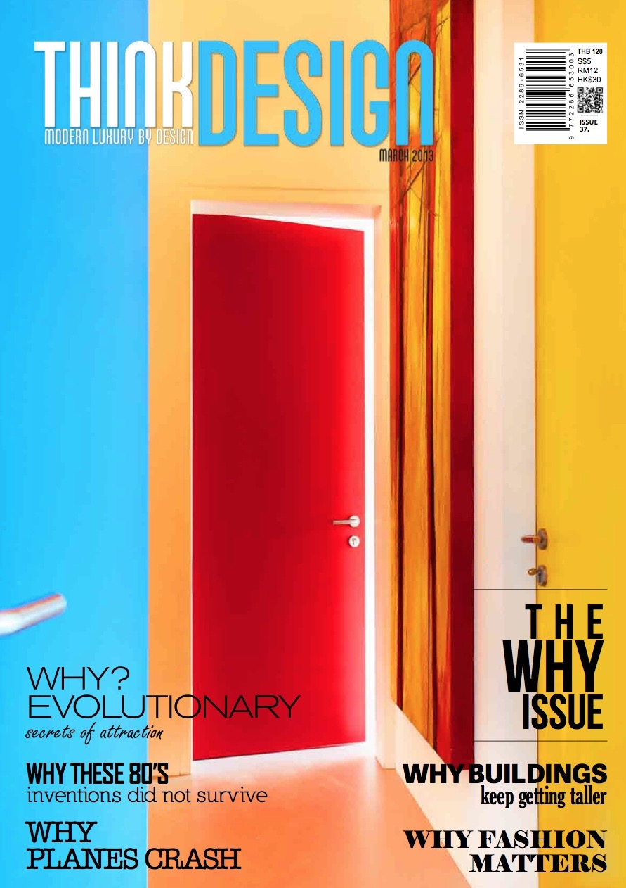 Cover of Think Design Magazine