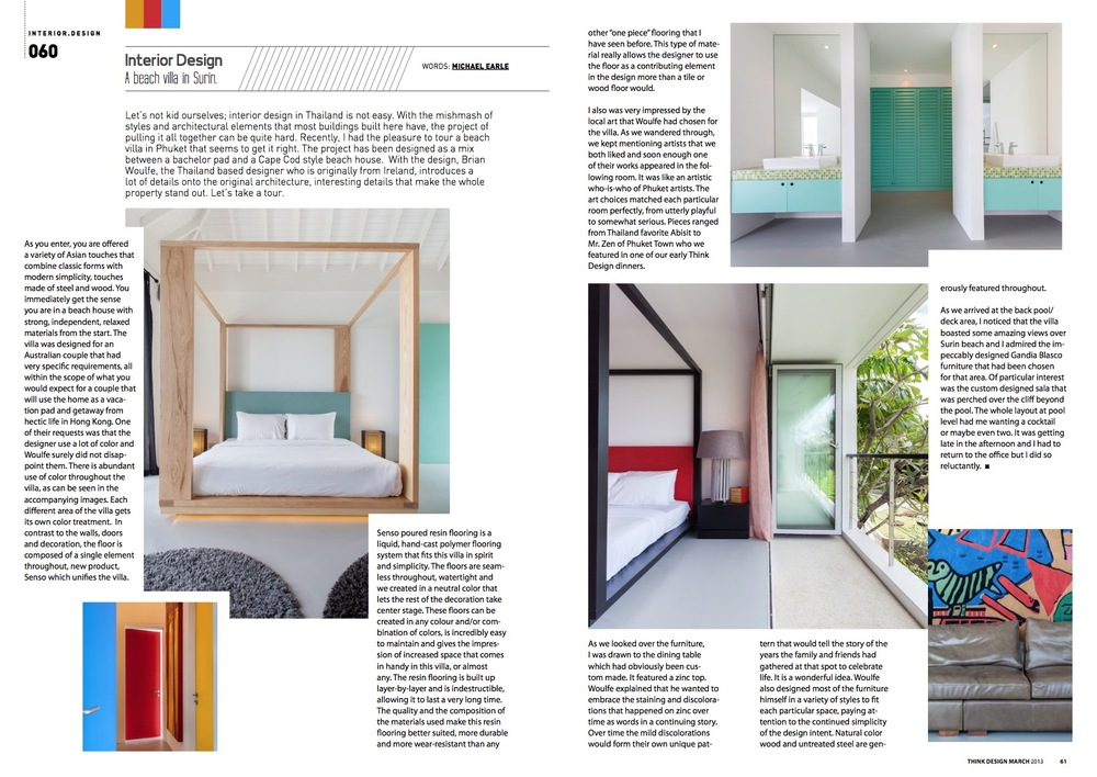 Interview Think Design Magazine