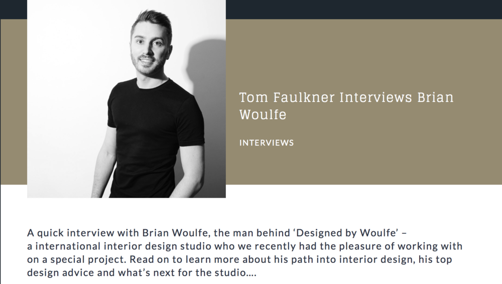 Tom Faulkner Interview