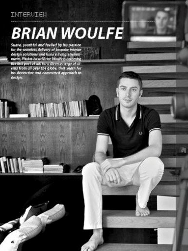 Brian Woulfe, Designed by Woulfe - Bedsheets Magazine