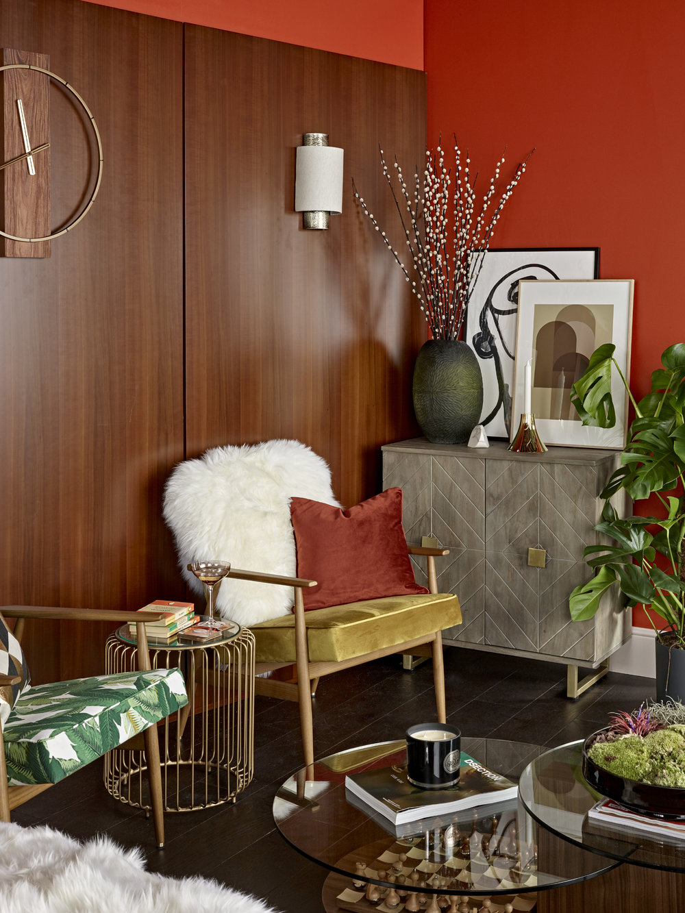 Designed by Woulfe, Mad Men, DreamHouzz, Clare Gaskin Interiors, Nick Smith Photography
