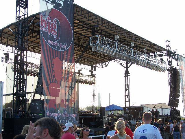 Big O Music Fest - Owensboro, KY - Courtesy of SRO