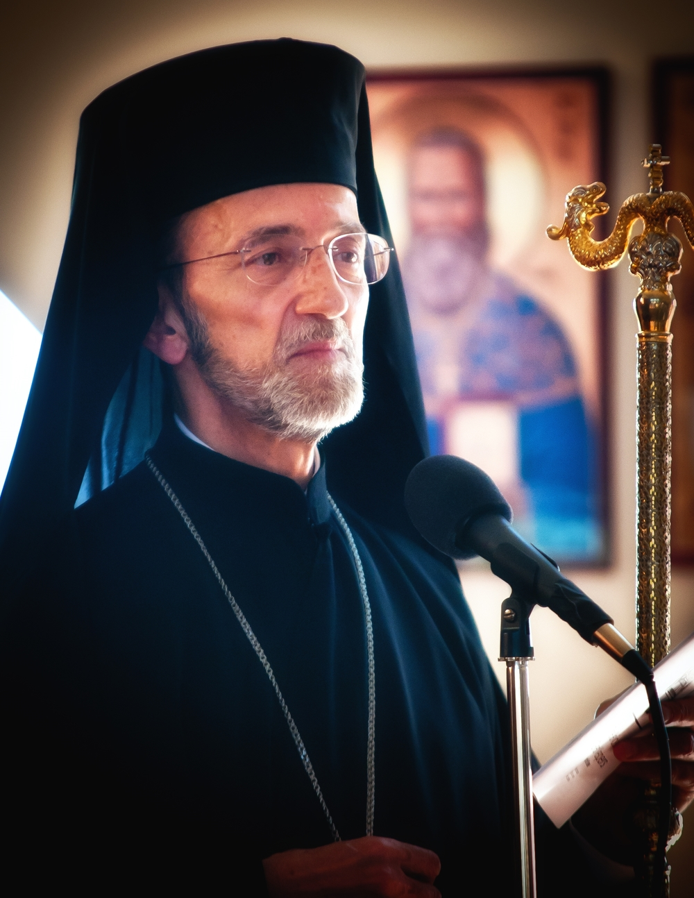 His Eminence Metropolitan Gerasimos of San Francisco.