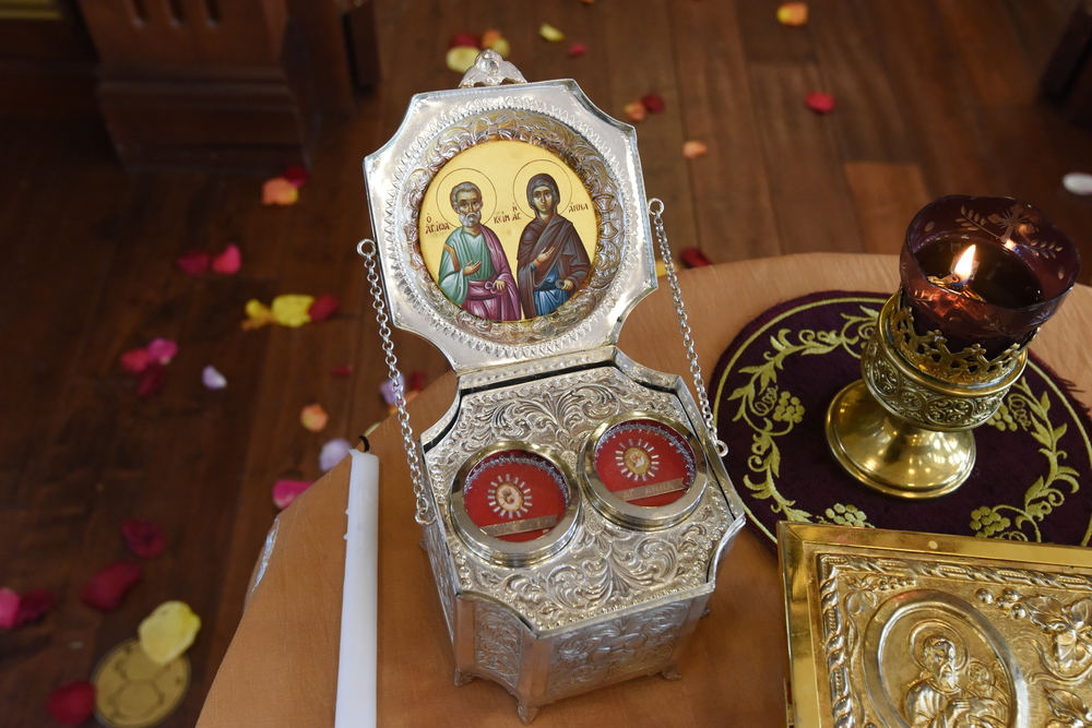 The Holy Relics of Saints Joachim and Anna