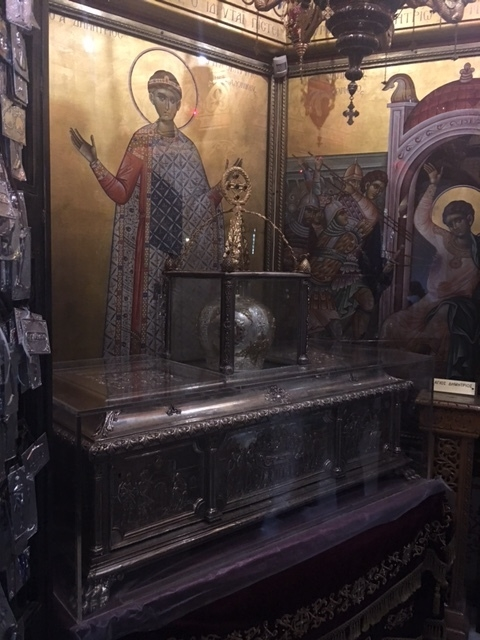 the Holy Relics of the Great & Holy Martyr Demetrius of Thessaloniki