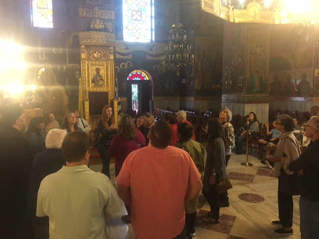 In the Church of St. Gregory Palamas