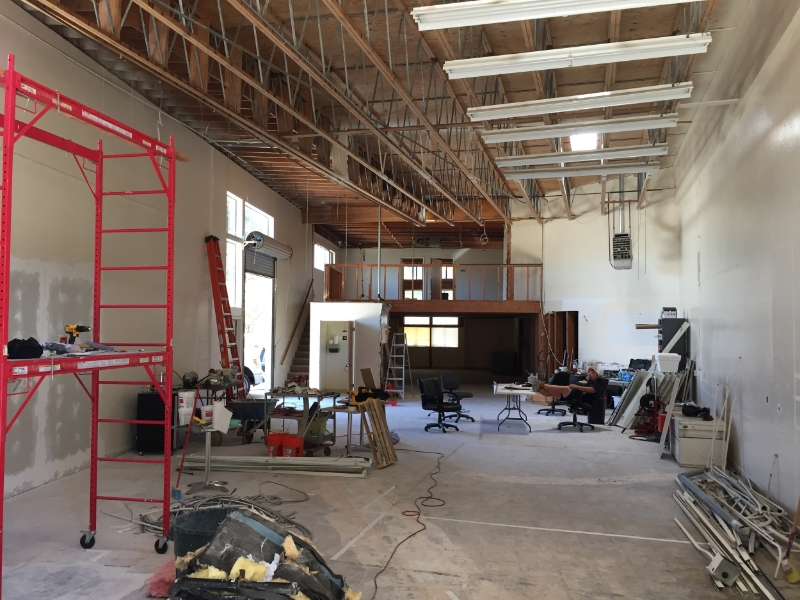 Draughtsmen Aleworks taproom construction.jpg