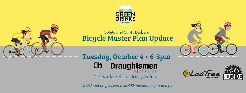 Green Drinks SB - Bicycle Master Plan Update
