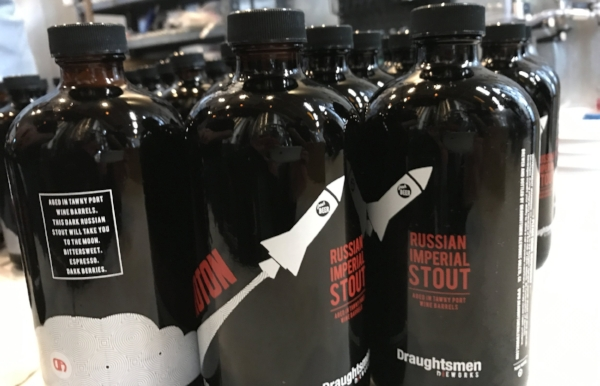Tawny Port Barrel-Aged Proton Russian Imperial Stout