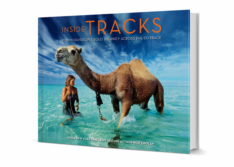 Tracks  Client: Against All Odds Productions Role: Art direction, design and production of 224-page book about Robyn Davidson's solo trip across the Australian desert.