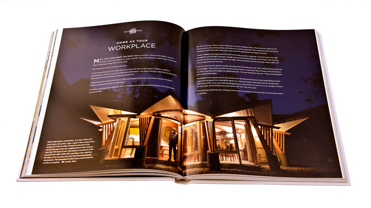 UK at Home  and US at Home  Client: Against All Odds Productions Role: Art direction, design, project management, and production of two 240-page books about life in the UK and the US.