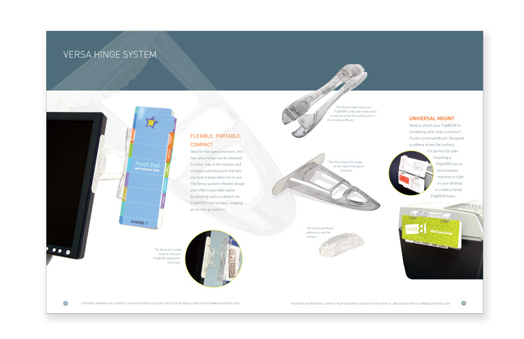 Product catalog Client: FlipCARDS Role: Art direction, photography, design, and production of 24-page catalog.