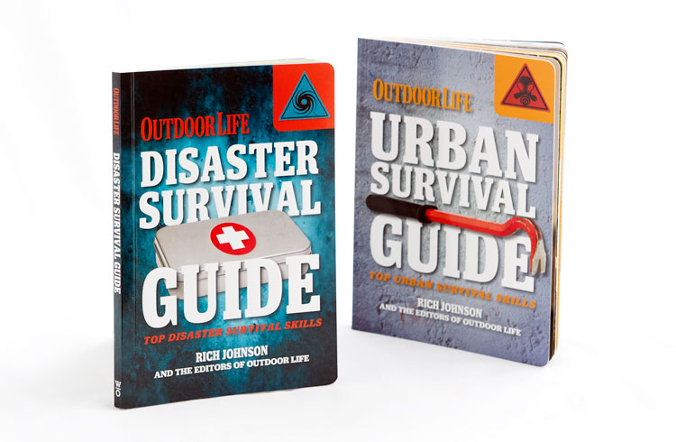 Outdoor Life Survival Guides  Client: Weldon Owen Publishing Design, photo research and production for two books. Role: Designer