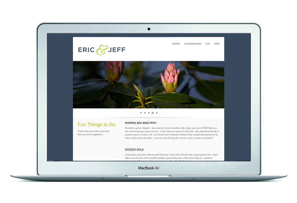 Clients: Eric Mann and Jeff Spicer Role: Design and production of website.