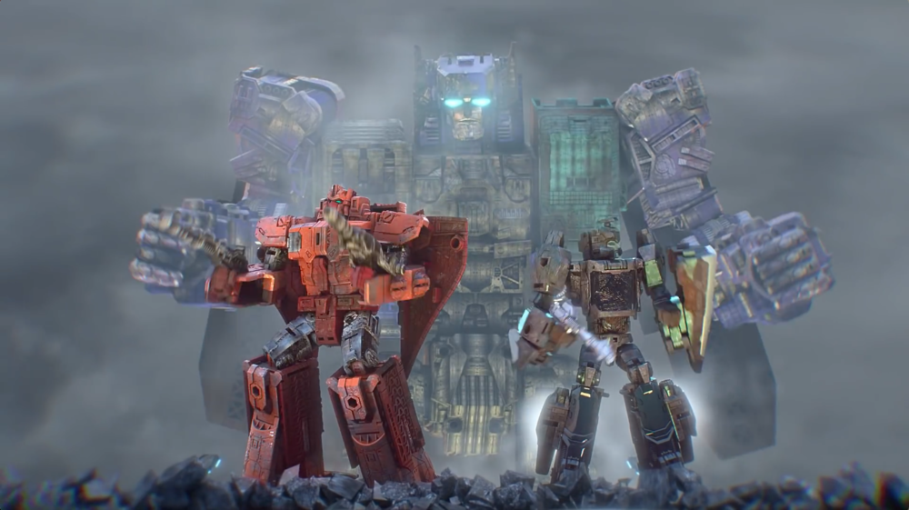 Transformers Generations | Titans Return - 'Fortress Maximus' Master Figures T.V. Spot | HASBRO