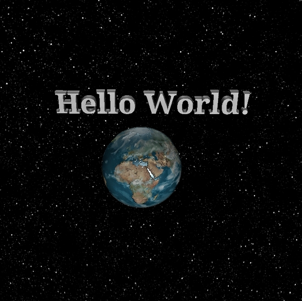 Hello World Click to view tutorial