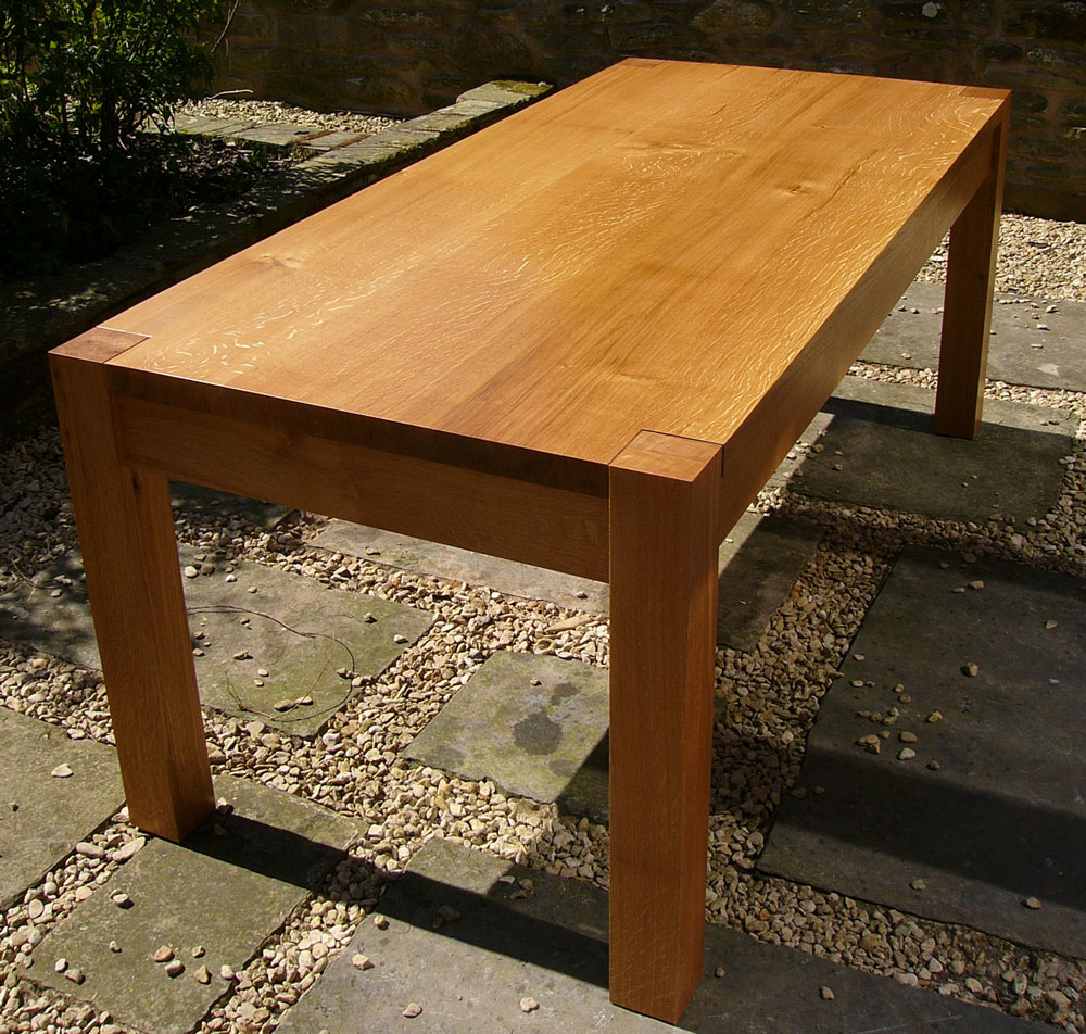material: english oak dimensions: 1850 l 850 w 750 h price: from £1,400