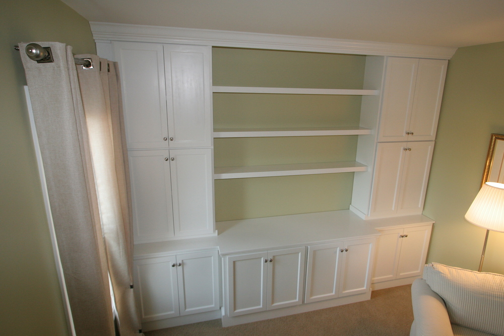 Built-in units are an excellent way to get the most out of small spaces.