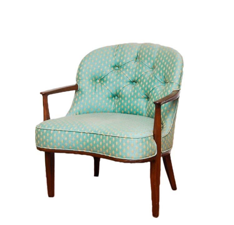 MINT JULEP mid century arm chair