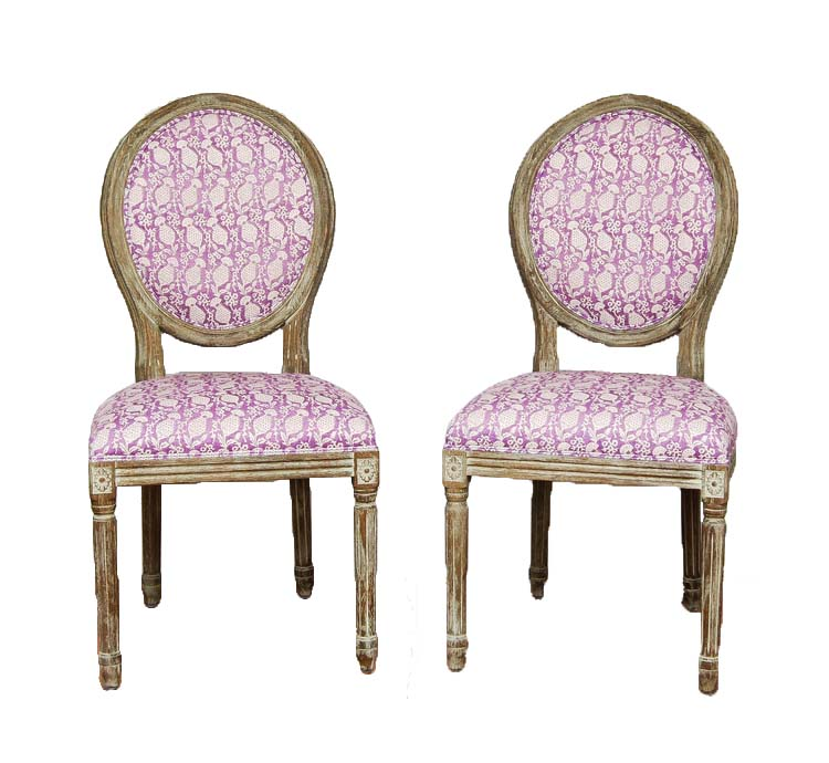THELMA & LOUISE chairs (2)