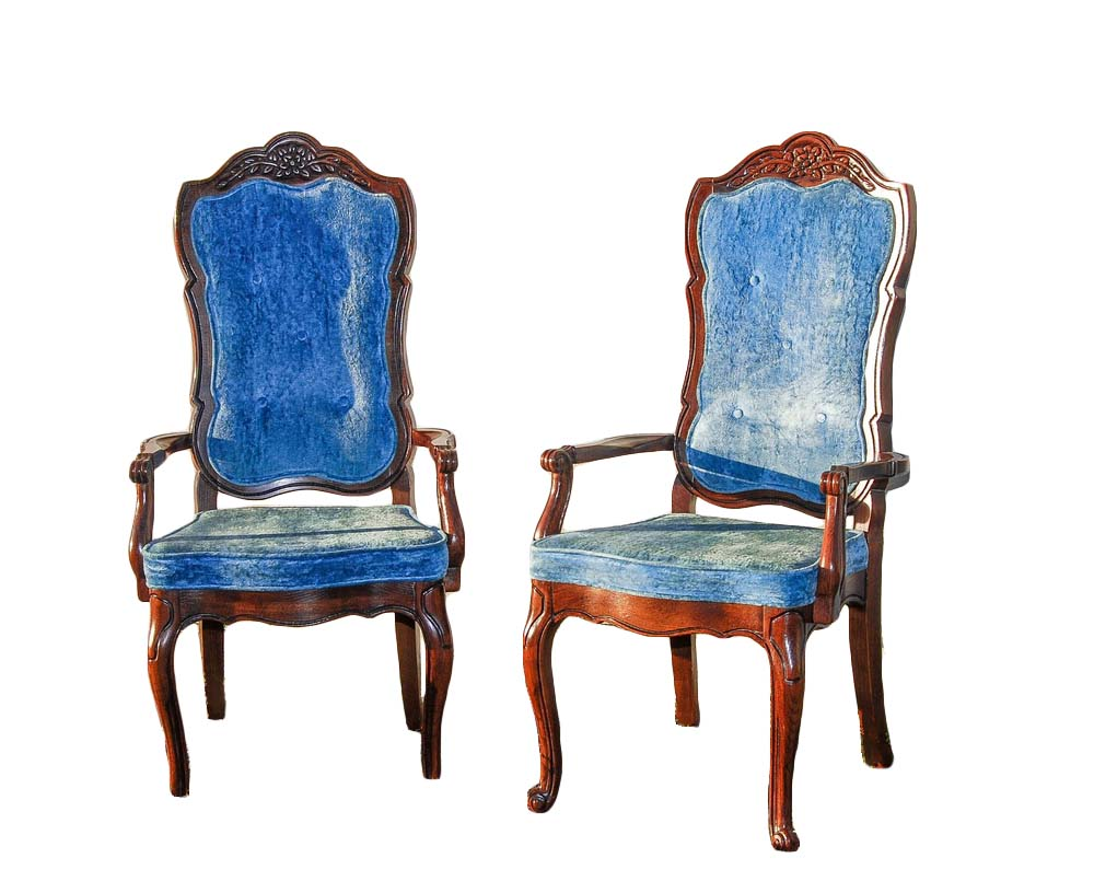 LE MER high-back chairs (6)