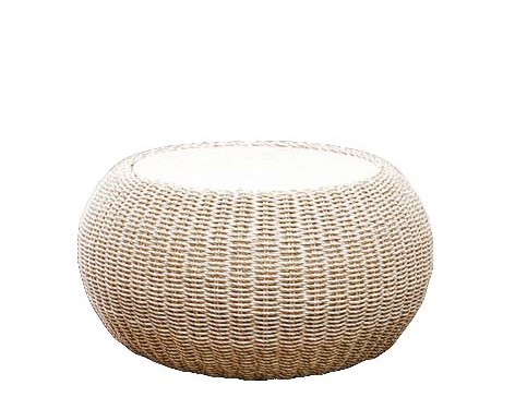 HARBIN rattan side table