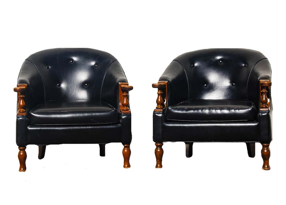 DOOBIE BROTHERS club chairs (2)