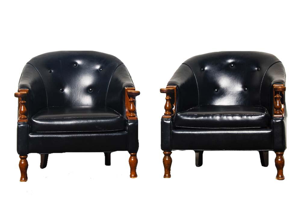 DOOBIE BROTHERS club chairs (2)