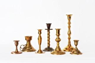 Vintage Gold Candle Sticks (assorted)
