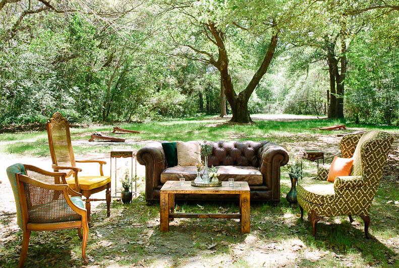 Sebastian Tufted Leather Sofa |Sage Arm Chair | Remi High-Back Chair | Adalie Arm Chair |RustiqueBarn-wood Table | Fantina Side Tables