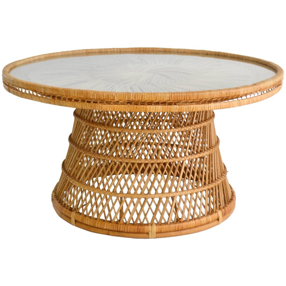 Rattan Oblong Table