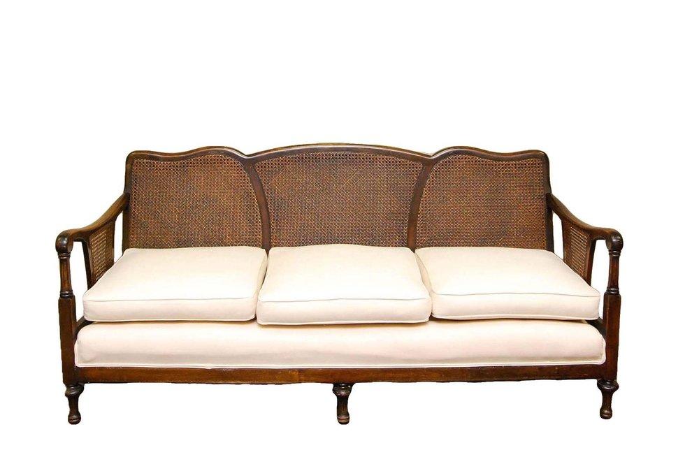 HEY JUDE cane back sofa