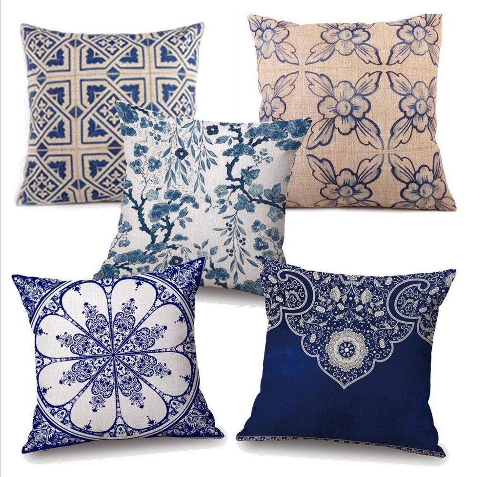 Indigo Pillow Collection