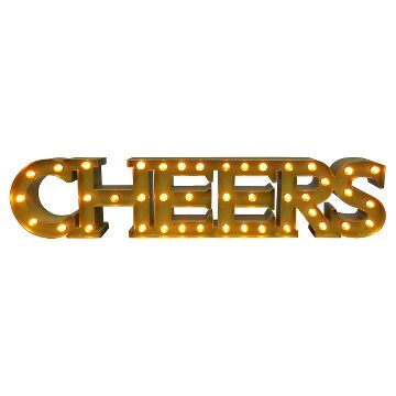 'CHEERS' Marquee Sign