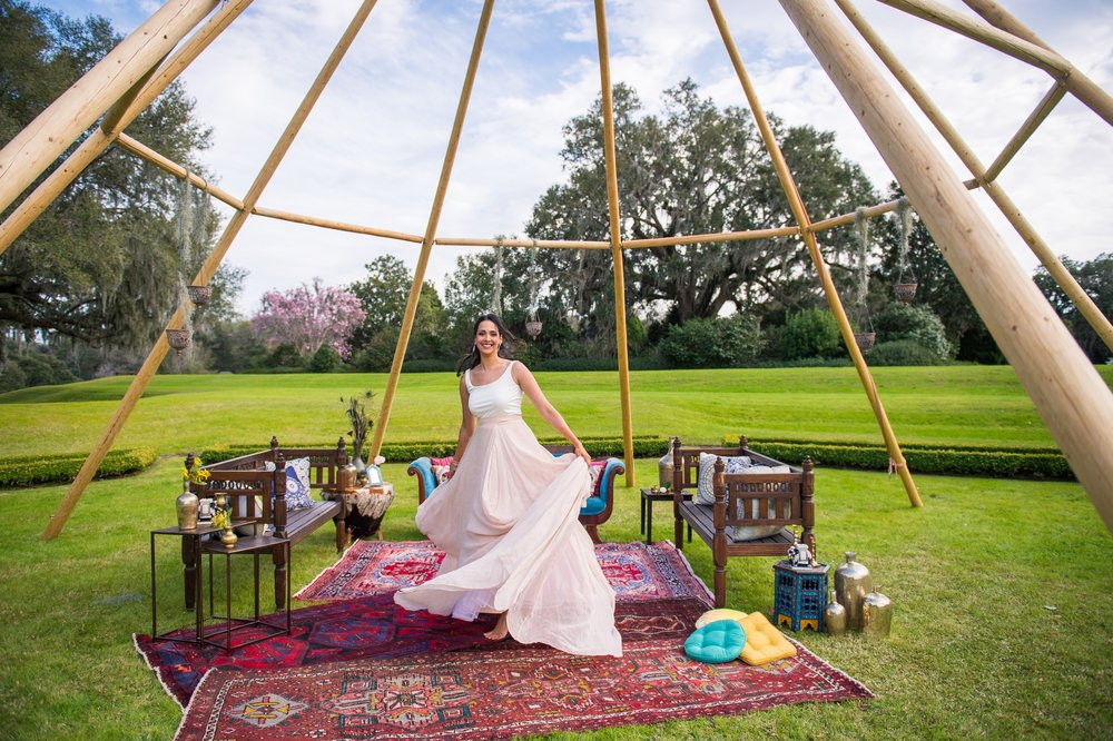 Indian Summer Wedding - The French Eclectic Vintage Rentals Blog
