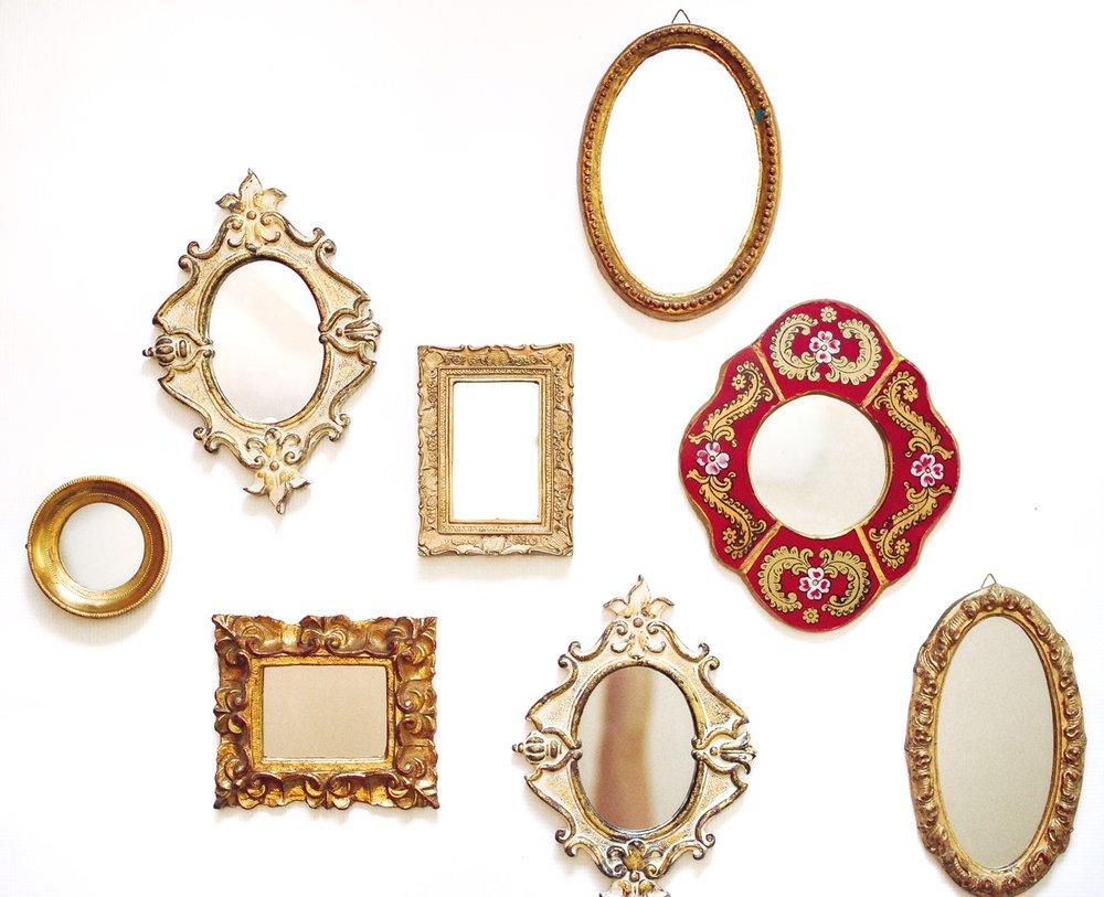 Petite Vintage Mirrors