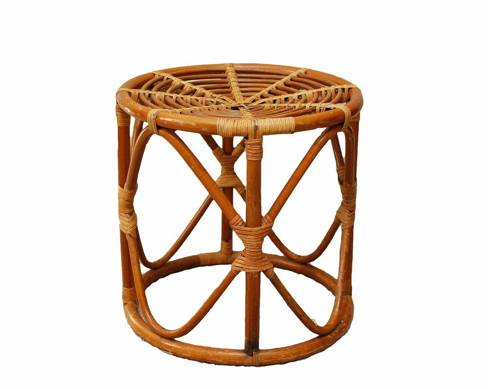 REBA Rattan Side Table