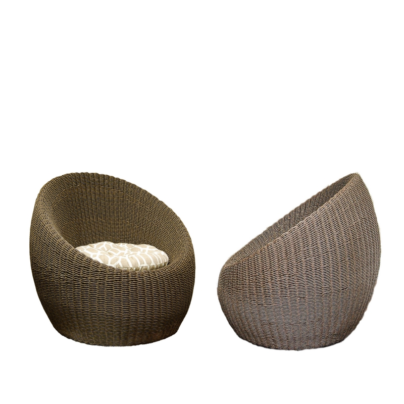 LOW RIDER rattan chairs (2)