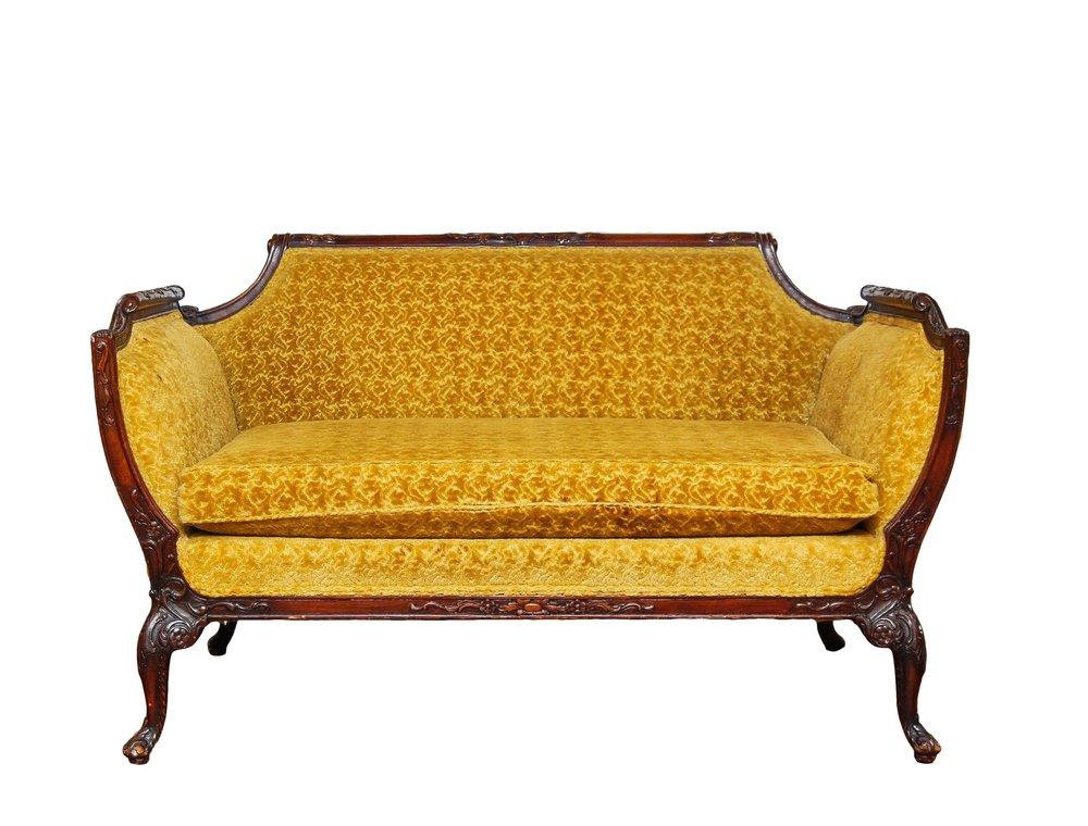 GOLD DIGGER settee