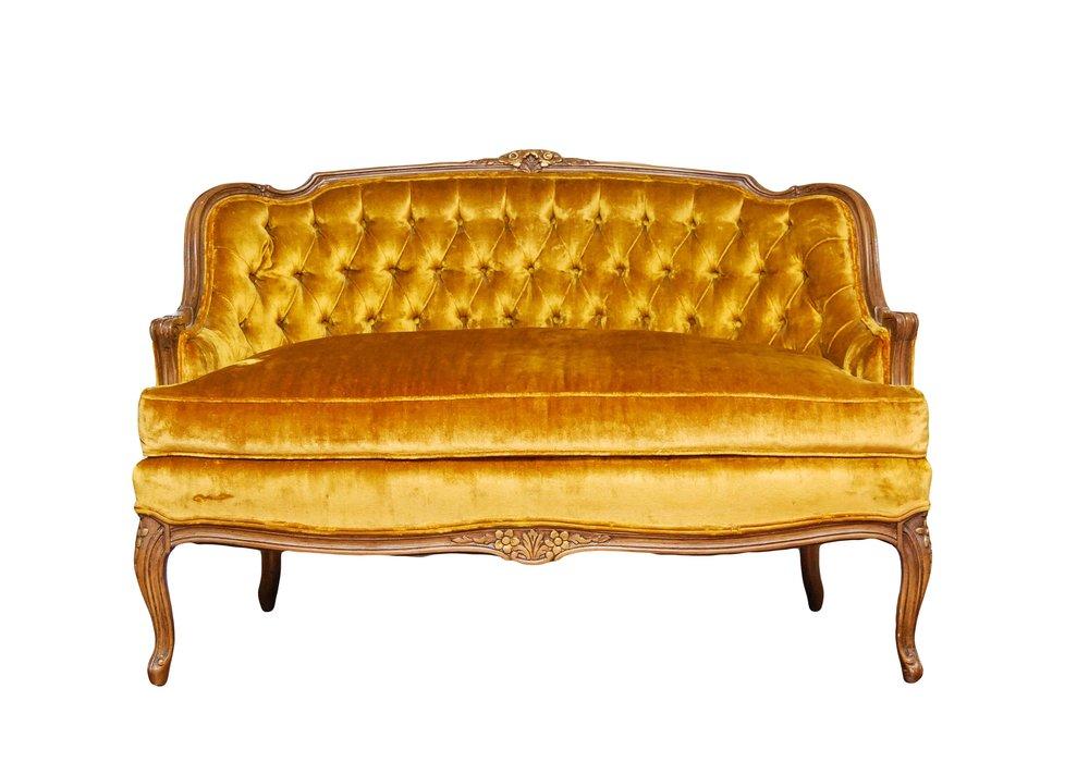 GOLDEN GIRL settee