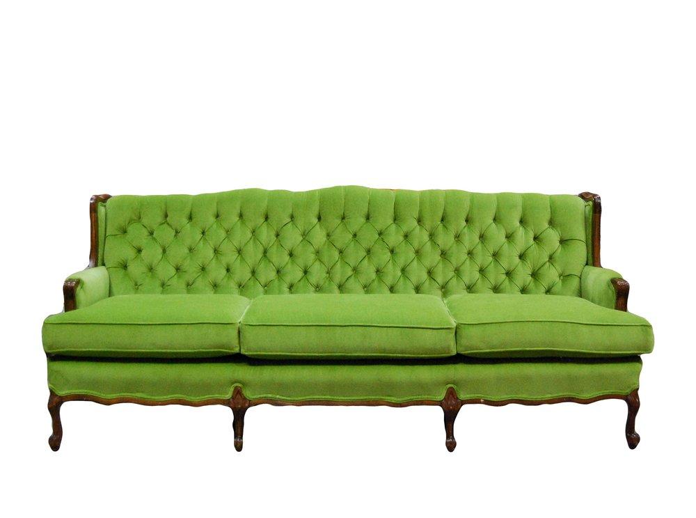 SWEET PEA velvet sofa