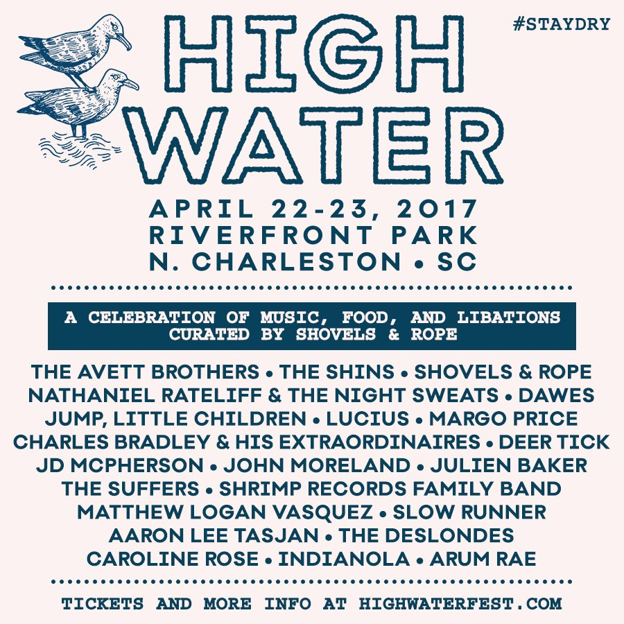 High Water Fest poster