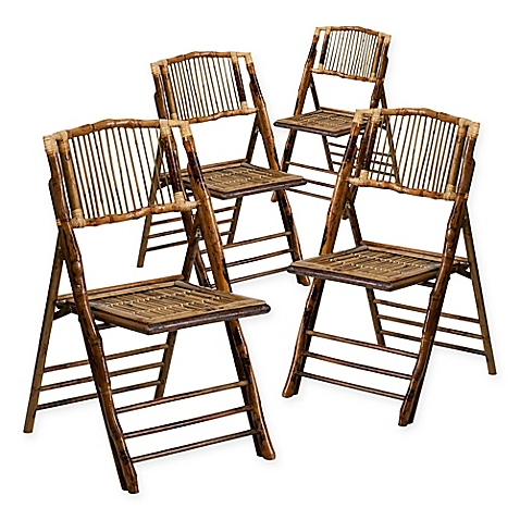Bamboo Folding Chairs (100)