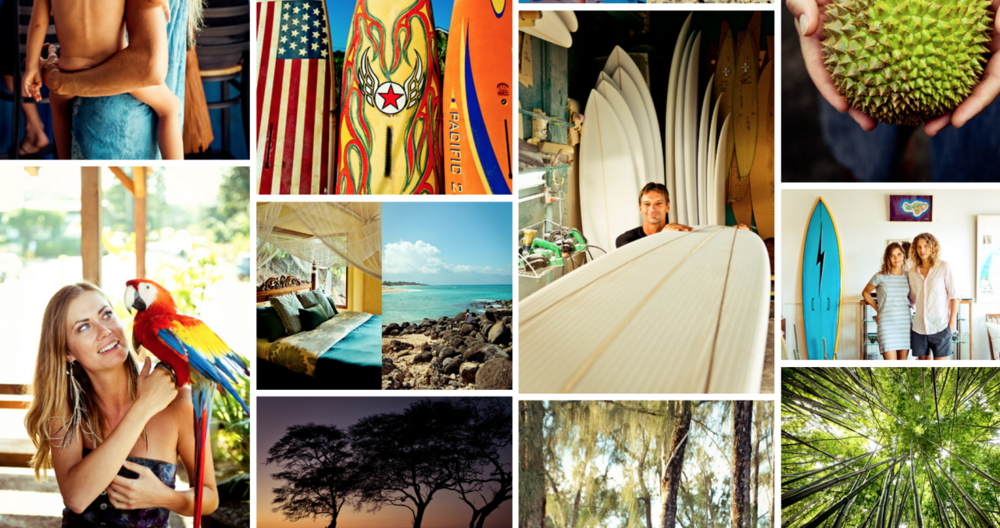 New images from Maui just added to the editorial section on this site, shot for Conde Nast Traveler