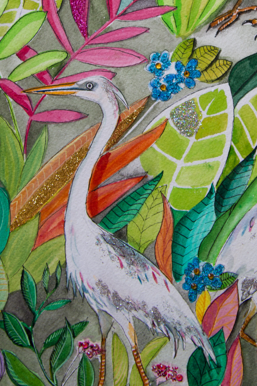 Cranes in The Garden Detail - Zoe Wood 2017 (1 of 1).jpg