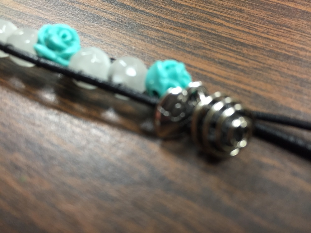 Love charm and diffuser bead