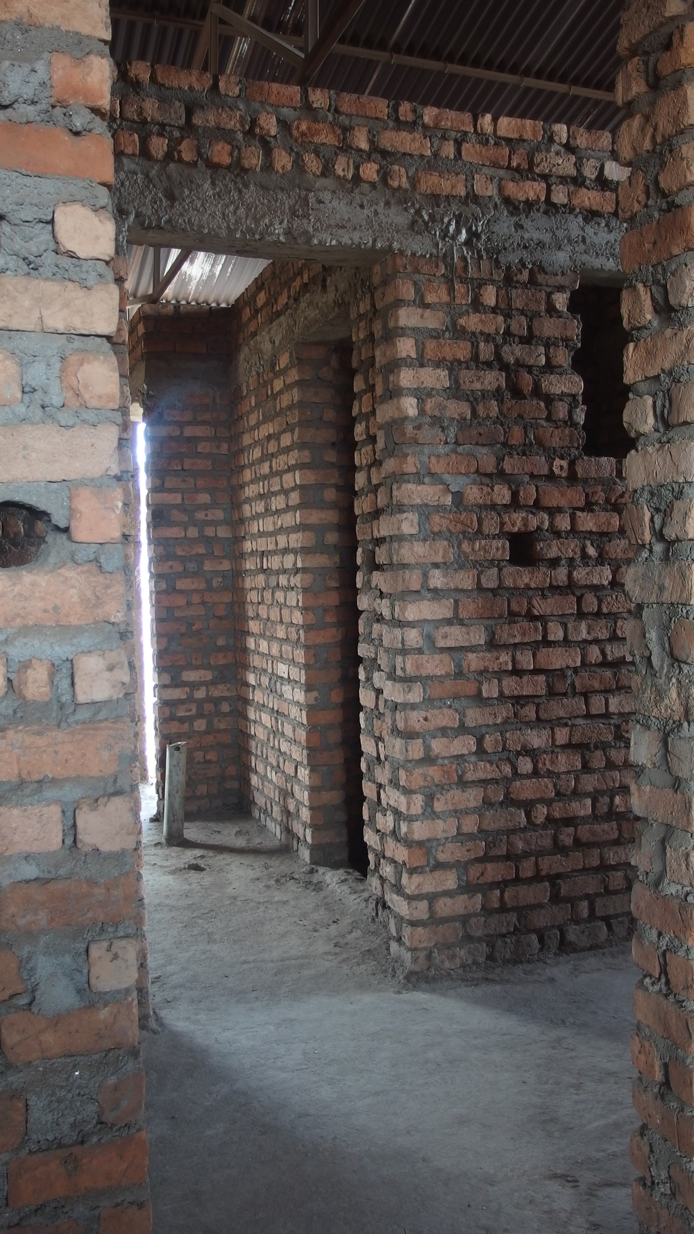 Recognizing lack of safe housing as a barrier to education, Let Africa Live began construction on a dormitory for its female students in 2010.  They needed to stop halfway due to insufficient funds.  Mwendo Congo is stepping up to raise what is left to bring this project to completion.