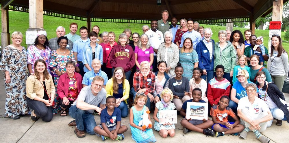 MWENDO CONGO FRIENDS OF ALL AGES GATHERED AT WABUN PARK IN MINNEAPOLIS (AUGUST 2017)
