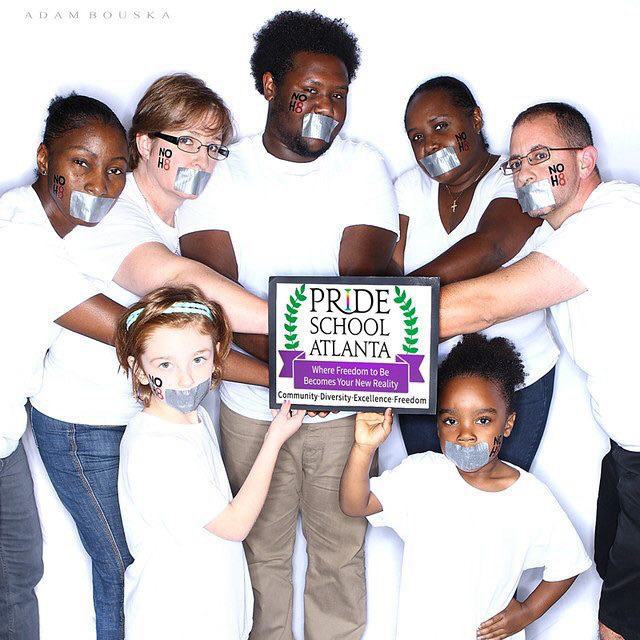 Pride School Atlanta Official NOH8 2015