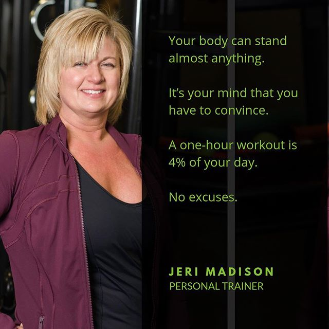 Wise words from Trainer Jeri!! Are you ready to DUDAS!? #justdudas #personaltrainer #iamarete #areteaccelerator #aretesyndicate #legionofboom #fitlife #motivation #inspiration #dowork #noexcuses #fitfam #fitspo #personaltraining #personaltrainer #justdoit #dowork #maxout #goals #fitspiration